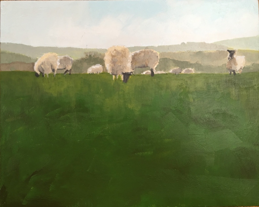 PAINT_South Downs sheep_LO